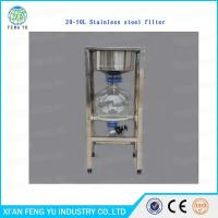 Wholesale chemical lab 20L Stainless Steel Filter price for separates solid-liquid mixtures from china suppliers