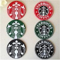 Wholesale Custom 8.5 cm beautiful brand name cup coaster made in china from china suppliers