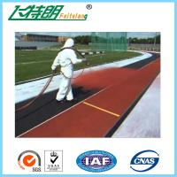 Wholesale IAAF Gymnasium Rubberised Flooring All Weather Tracks Outdoor UV - Resistance from china suppliers