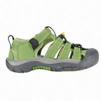 Wholesale Children's Sandal with suede and mesh upper and durable outsole from china suppliers