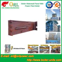 Wholesale Gas Steam Industrial Power 300MW Station Boiler Water Walls for Condensing Boiler from china suppliers