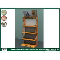 Buy cheap Shops Retail Display Racks Four Layers Metal Designed Customized Color from wholesalers