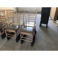 Buy cheap china factory classic tiffany chair for wedding factory supply strong resin pp chiavari chair with metal core from wholesalers