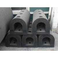 Wholesale Moulded D Section Rubber Fender , Natural Rubber Marine Rubber Fender from china suppliers