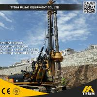 Wholesale Diameter 1000mm 32m Friction Kelly Bar Piling Rig Machine TYSIM KR90C from china suppliers