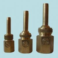 Quality Brass Single Jet Fountain Nozzle with Valve for sale