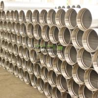 Wholesale Continuous slot sand control johnson screens casing pipe for oil and water well drilling from china suppliers