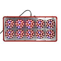 Wholesale hydroponic lamp 370w led grow light 10 panel red blue ratio full spectrum for indoor garde from china suppliers