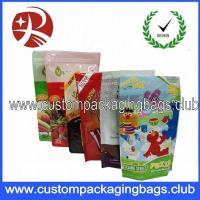 Wholesale Custom Stand Up Zipper Plastic Food Packaging Bags For Snack , Tea , Seeds , Coffee Beans from china suppliers