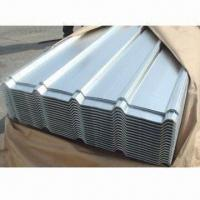 Wholesale Galvanized Corrugated Steel Sheet/Roofing Sheet, Thickness from 0.13 to 0.6mm from china suppliers