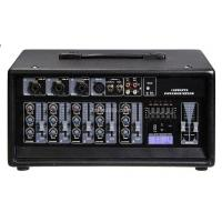 Wholesale High Performance Audio DJ Power Mixer , 2 Channels 4 Mic / Line from china suppliers