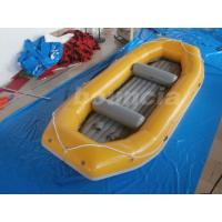 Wholesale Yellow / Blue 2.0mm Thick Inflatable Rafting Boat Water Areas Use from china suppliers