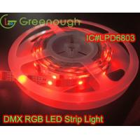 Wholesale IC#LPD6803 30LED DC12V Waterproof RGB strip light/Addressable LED strip/Pool strip light from china suppliers