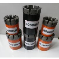 NQ Wireline Impregnated Diamond Core Drill Bits , N Rod Thread Bits