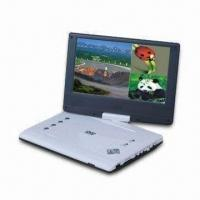 Wholesale 9-inch Portable DVD Player with 16:9/4:3 Aspect Ratio and Parental Lock Function from china suppliers