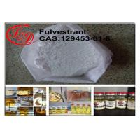 Wholesale Faslodex Fulvestrant Bodybuilding Anti Estrogen Drugs CAS129453-61-8 99.6% Purity from china suppliers