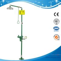 Wholesale SH712BSG-Safety shower & eyewash station,Carbon steel,Green eye wash and emergency shower from china suppliers