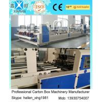 Wholesale 6000 KGS Fully Automatic Folder Gluer Folding And Gluing Machine For Carton Box from china suppliers