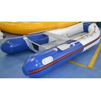 Wholesale Outdoor 3.2 Meter Aluminum Floor PVC Inflatable Boat Fire Retardant from china suppliers