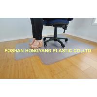 Quality Clear Non Slip Grips Chair Floor Protector Mat For Chairs , 1800x 3000 mm for sale