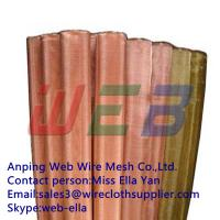 Wholesale Copper wire cloth (Anping Manufacturer) from china suppliers