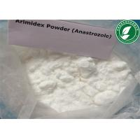 Wholesale White powder anti estrogen steroid Anastrozole Arimidex for anti ncancer 120511-73-1 from china suppliers