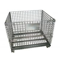 Wholesale steel warehoue storage wire mesh cage from china suppliers