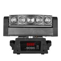 Wholesale Rainbow Effects CREE Mini LED Moving Head Beam Stage Light with Infinite PAN Movement 50W from china suppliers