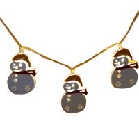 Wholesale Steel snowman led fairy string from china suppliers