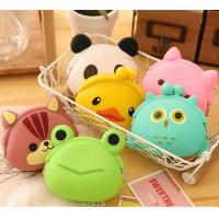 Wholesale Mini Cute Cartoon Animal Wallet/Jelly Silicone Coin Purse With Ears Great For Children from china suppliers
