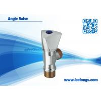 Wholesale Angle Ball Valve / Angle Valve Toilet Zinc Body , Zinc Core With Triangle Handle from china suppliers