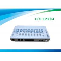 Wholesale 4 Ethernet 10 / 100M Gpon Epon1 CATV Port 2 FXS  Ports Plastic Black Buint in WIFI from china suppliers