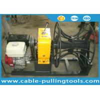 Wholesale Honda Gasoline Engine Hoist Cable Winch Puller Tight line WIth Big Drum 5t from china suppliers