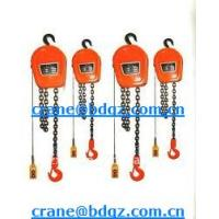 Wholesale CHINA  construction equipment HSZ-KII chain pulley blocks IN LOW PRICE from china suppliers