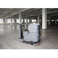Wholesale Smaller Size Bigger Cleaning Width Gray Color Ride On Floor Scrubber Dryer For Zoom from china suppliers
