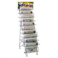 Wholesale 10-Tiered Wire Literature floor stand from china suppliers