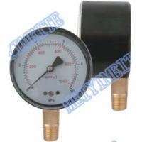 Wholesale Mini Bar Pressure Gauge Black Steel Case 2.5'' Brass Pressure Gauge 2.5% Accuracy from china suppliers