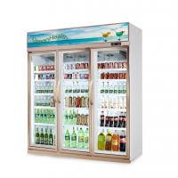 Buy cheap Store Glass Door Freezer 5 Layer And Adjustable Shelf 1630 * 600 * 2120 from wholesalers