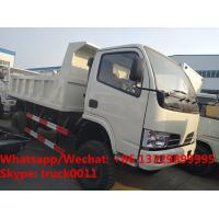 Buy cheap Factory customized cheapest price CLW brand 4*4 RHD diesel dump tipper truck for sale, CLW dump pickup vehicle from wholesalers