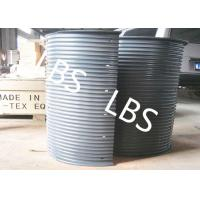 Wholesale Steel Wire Rope Winch Reel Sleeve WIth Double Broken Line Groove from china suppliers