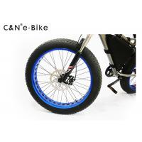 Quality LCD / TFT Display Electric Fat Tire Snow Bike Heavy Duty Aluminum Side Kickstand for sale