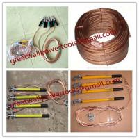 Wholesale China Earth rods set with wire and earth pin,Earth rod from china suppliers