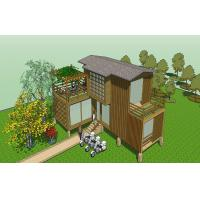 Wholesale Outdoor Building WPC House Environmental with Weather Resistance from china suppliers