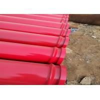 Wholesale Double / Single Wall Concrete Pump Pipe ST52 45Mn2 20# DN125*WT4.5*3000mm from china suppliers
