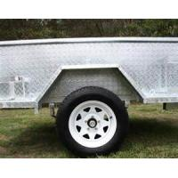 Wholesale 6X4 Galvanised Off Road Trailer With Heavy Duty Axle / 450mm High Side from china suppliers