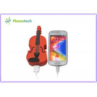 Wholesale PVC Unique Guitar Mobile Battery Backup Charger Universal USB Compact from china suppliers