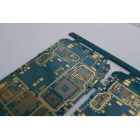 Wholesale 1.6mm FR4 Flash Gold PCB with ENIG surface finish and gold finger for automobile application from china suppliers