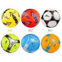 Wholesale Soccer ball, #5,32 pcs leather sections, butyl bladder, PVC/PU/TPU, machine-sewing from china suppliers