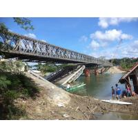 Wholesale Assembling Type Bailey Truss Bridge Minimal Maintenance For Earthquake Emergency Use from china suppliers