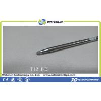 Quality Non-rusty and Professional Leadfree T12-BC3 Soldering Tips , Popular Hakko Welding Tips for sale